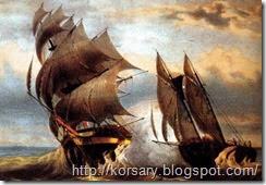 Тактика морских пиратских боев