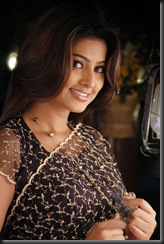 sneha in black saree