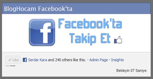 Zaman Ayarlı Popup Facebook Beğen Kutusu