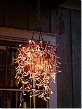 basket of non-christmas lights
