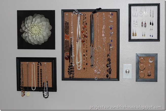 Jewelry Organization Display