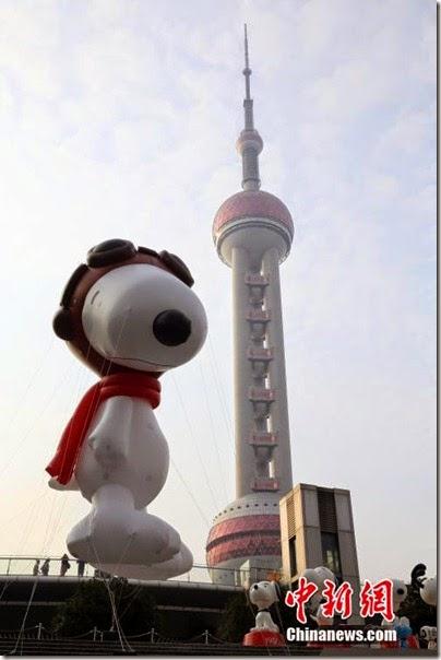 Snoopy at Pearl Square , IFC Mall, LuJiaZui, Shanghai 史努比。上海 06