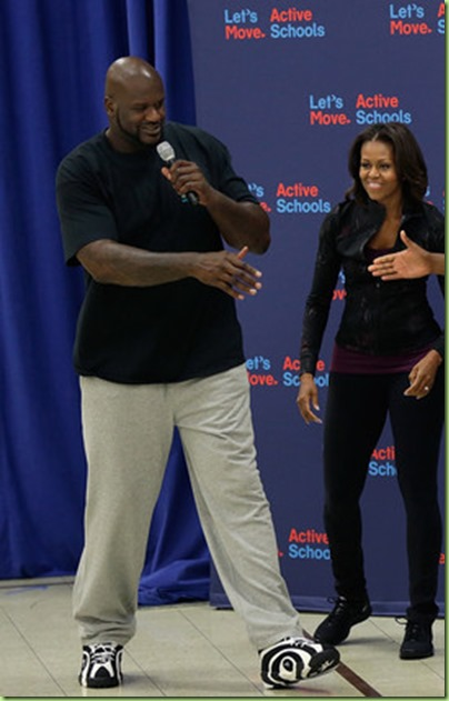 Michelle Obama Michelle Obama Promotes Exercise lLiN3tBUprul