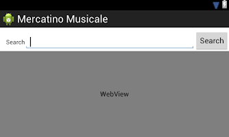Screenshot of Mercatino Musicale Alpha