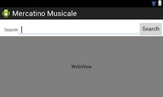 Screenshot of Mercatino Musicale Alpha