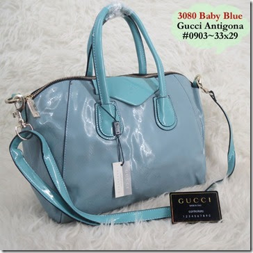 GUCCI 3080 Antigona (202.000) - Kanvas Laminating, 33x29