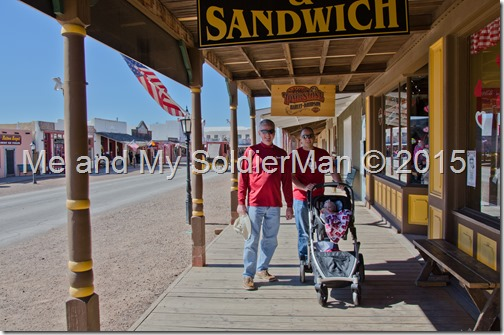 Me and My SoldierMan: Tombstone, AZ - The Town Too Tough to Die, and The Thing on I-10
