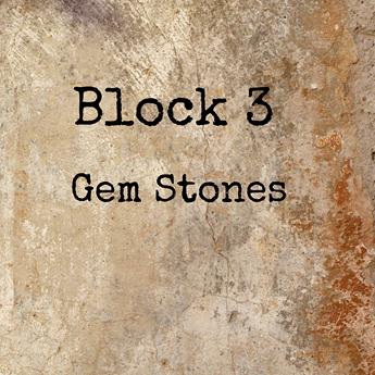 Block 3 Gem Stones