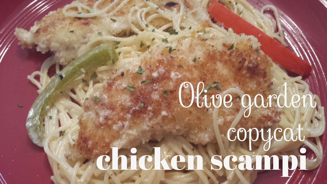 Mrs. Scales\' Recipes n\' Things: Copycat Olive Garden Chicken Scampi