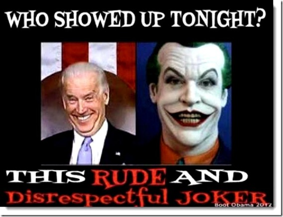 VP Debate 2012- Biden or Joker