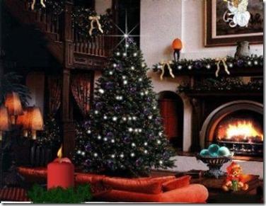 Como Decorar una Sala de Navidad6