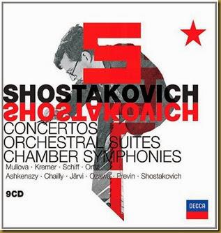 Shostakovich Conciertos Suites Decca
