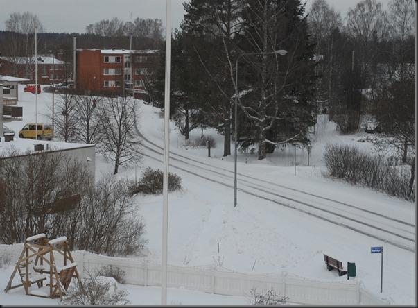 talvi maisema taatto joulukuusi 001