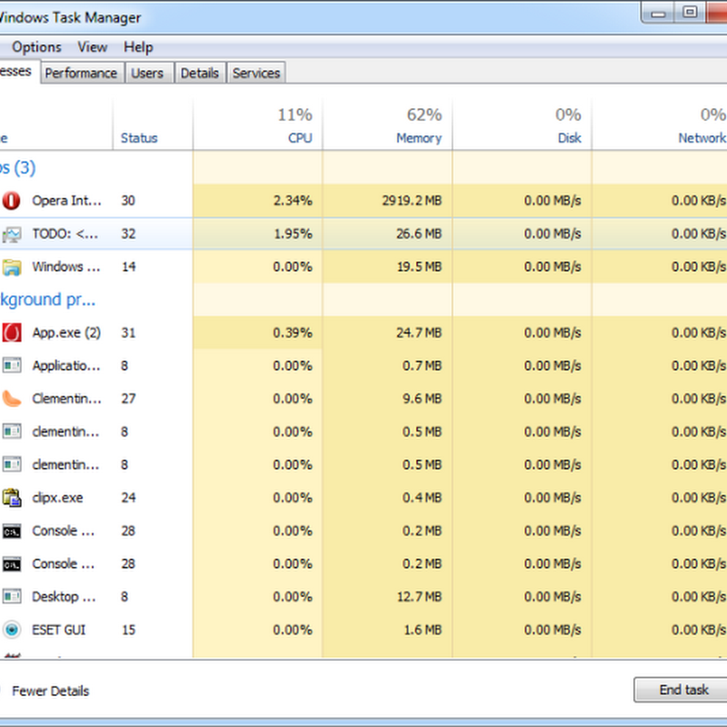 DBCTaskman: Windows 8 Styled Task Manager For Windows 7