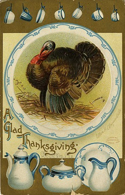 Vintage Thanksgiving Postcard by Minnesota Historical Society, on Flickr [used under Creative Commons license]