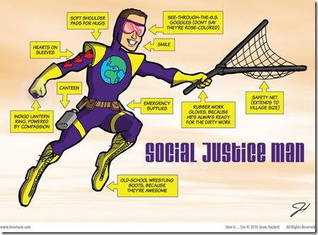 social justice man