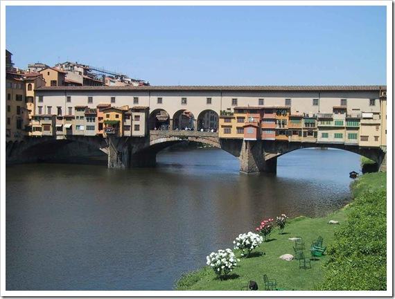 Italië Firenze Ponte Vecchio web groot