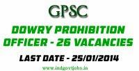GPSC Jobs 2014