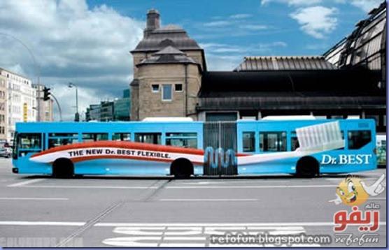 فن الاعلان على الحافلات عالم ريفو 9