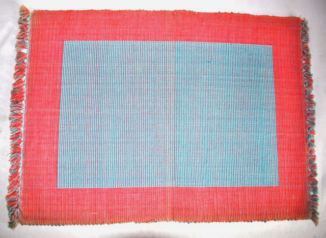 Cotton Hand Woven Table Mat