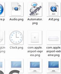 Colección de íconos estilo Mac OS X gratis para descargar