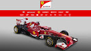 HD pictures 2013 Launch Ferrari F138 F1 car