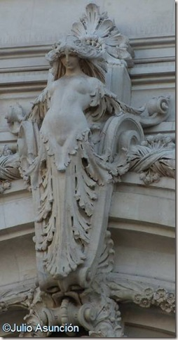 La Ninfa del Palacio de Cibeles - Madrid