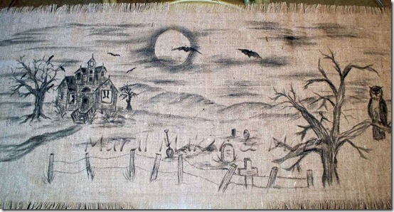 Halloween-Burlap-Runner-7