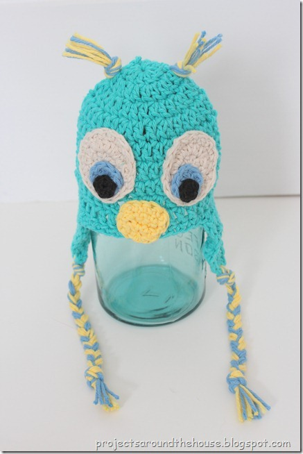 newborn crochet owl hat pattern