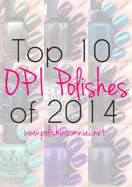 Top 10 OPI's of 2014