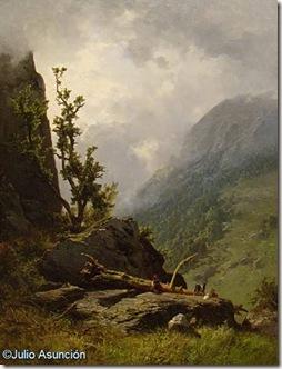 Paisaje de los Picos de Europa - Carlos de Haes - Museo de Bellas Artes de Vitoria
