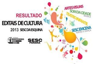 Resultado SESC da Esquina 2013