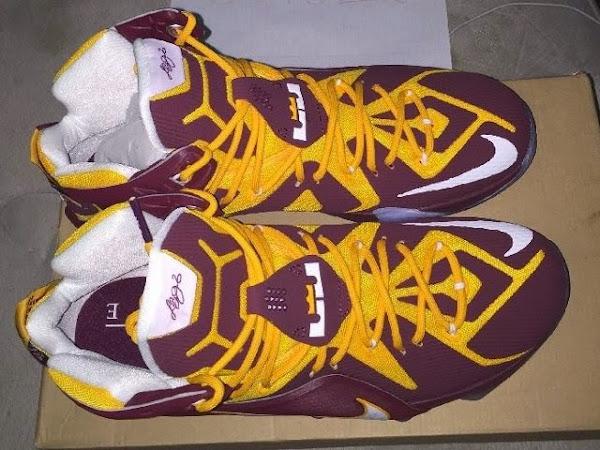 First Look at Nike LeBron XII 12 8220CTK Away8221 PE