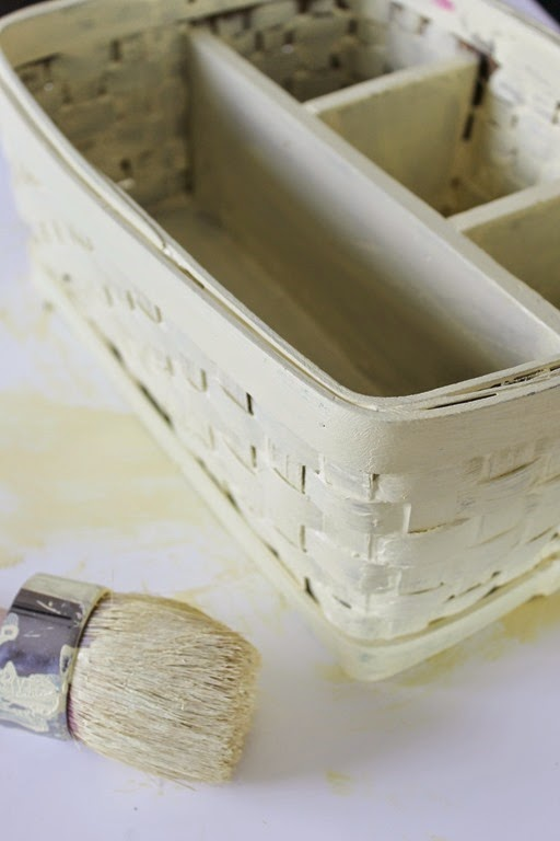 how to paint a basket #ad