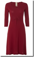 White Stuff Burnt Red Sally Dress