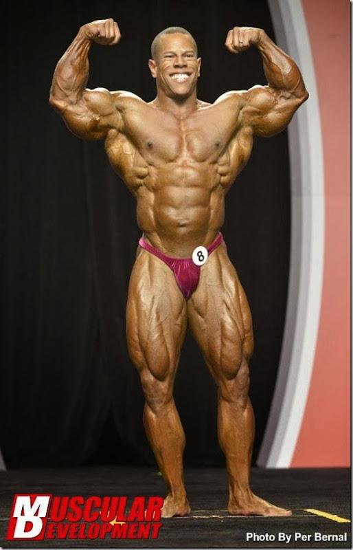 David Henry, second place 212 2013