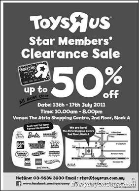Toys-R-Us-Star-Member-Clearance-Sales-2011-EverydayOnSales-Warehouse-Sale-Promotion-Deal-Discount