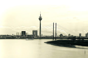 Düsseldorf in Black and White