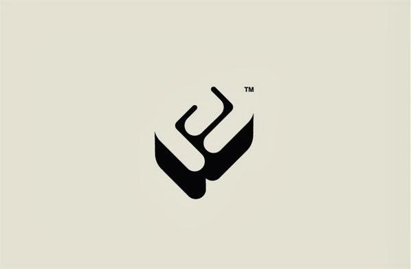 22 ejemplos de hermosos logotipos con estilo ultra minimalista 18