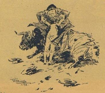 1928-06-01 (La Fiesta Brava) Chicuelo por Terruella