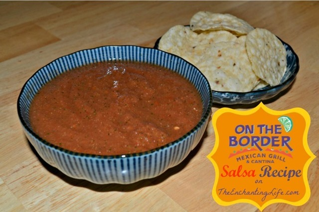 On The Border Salsa Recipe