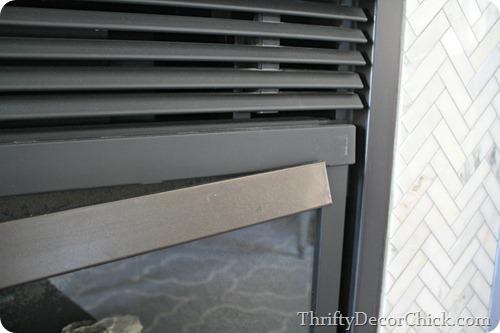 high heat paint on fireplace