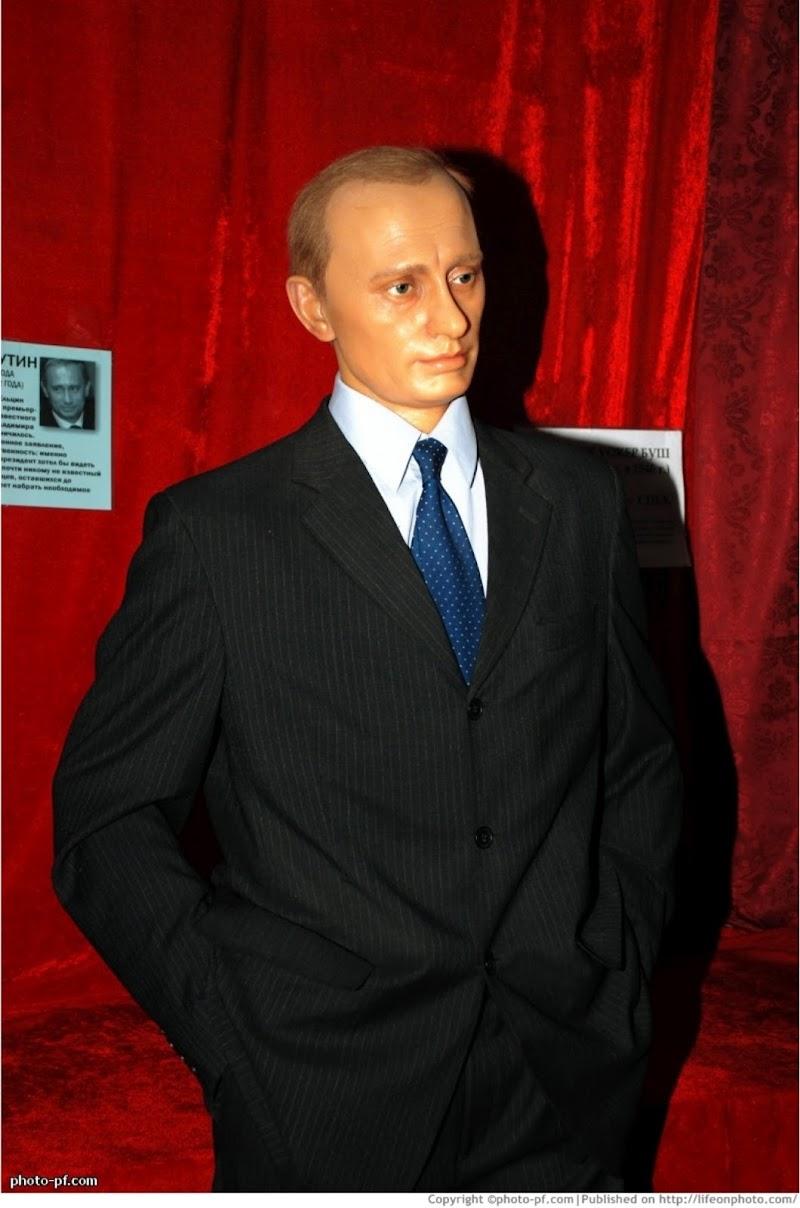 Экспозиция музея восковых фигур г. Санкт-Петербург