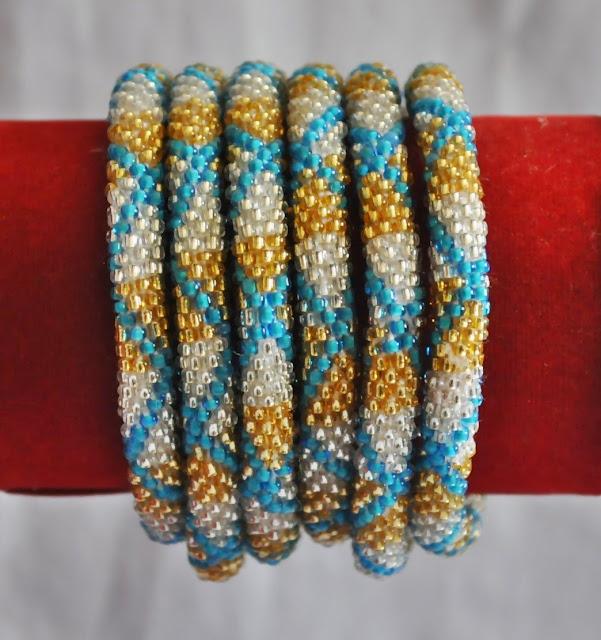 Glass Bead Bracelets