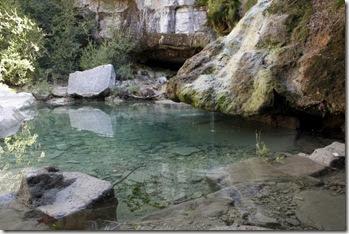 L'oasis de Gornies, toujours en eau même l'été.