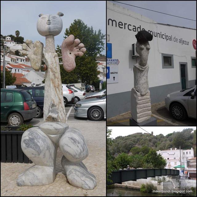 Aljezur's amazigh sculptures