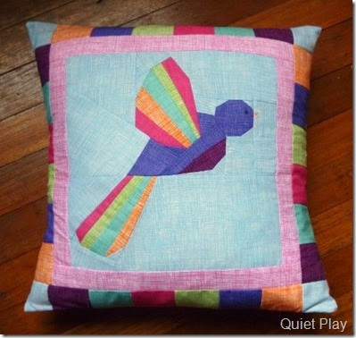 Bird in Flight Cushion