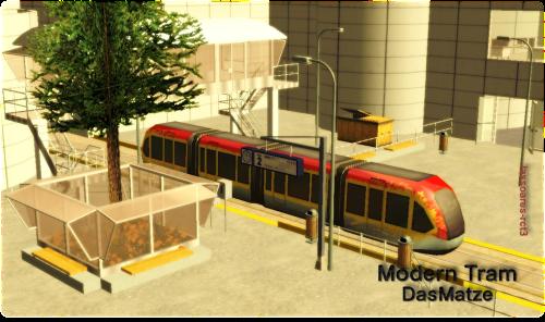 Modern Tram (DasMatze) lassoares-rct3