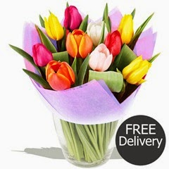 FREE DELIVERY Mothers Day Flowers - Love You Mum