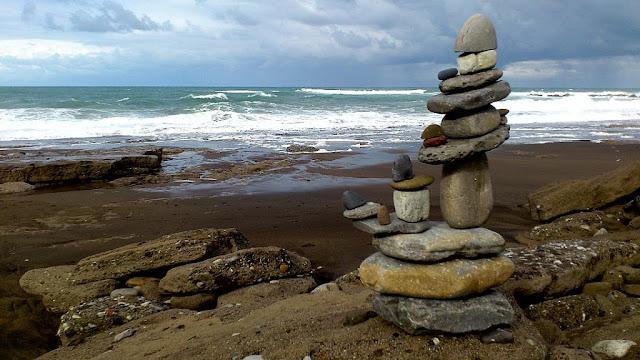 Piedras,equilibrio,Gorrondatxe,Getxo,Bizkaia